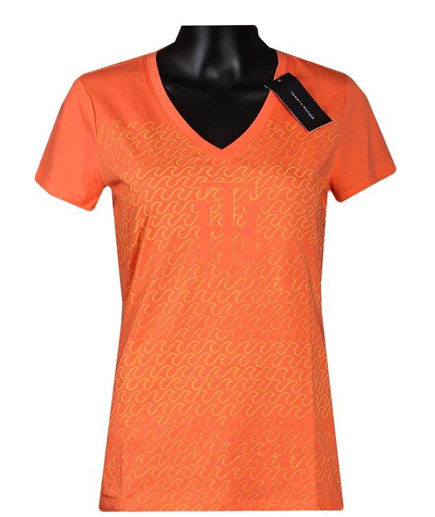 Tommy Hilfiger dámské tričko v-neck 583.573