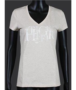 Tommy Hilfiger dámské tričko v-neck 154086