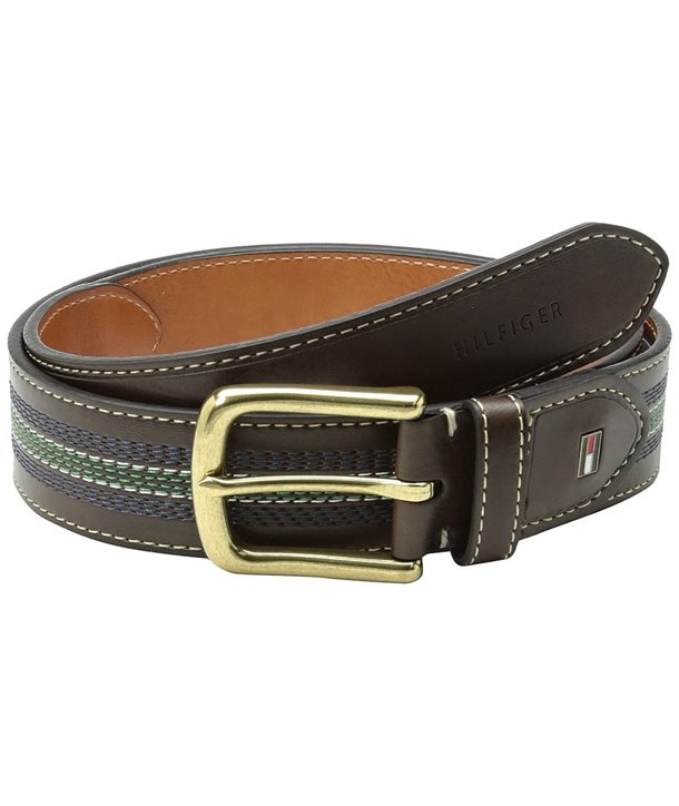 Tommy Hillfiger kožený pásek oboustranný 347350