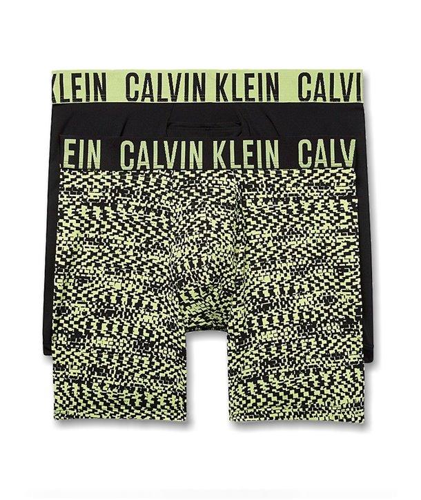 Calvin Klein trenýrky boxerky SLIM FIT 2 kusy pack