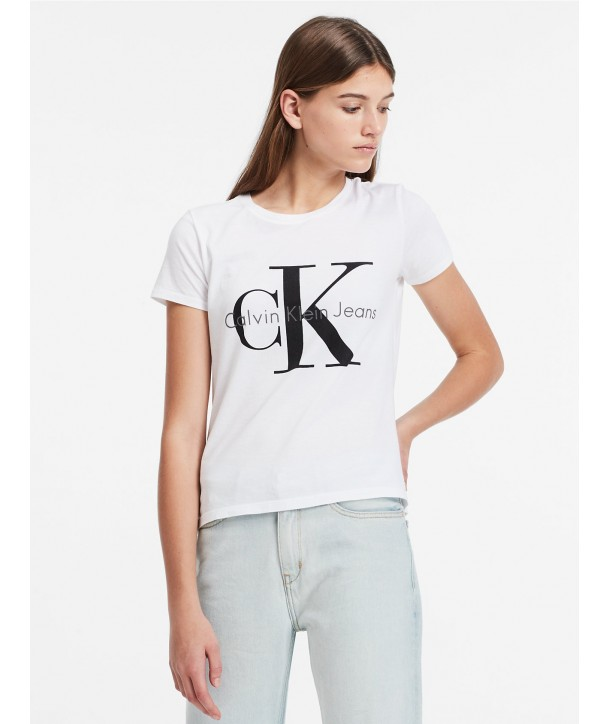 1682f1d68681 Calvin Klein dámské tričko Vintage Logo 42MK976