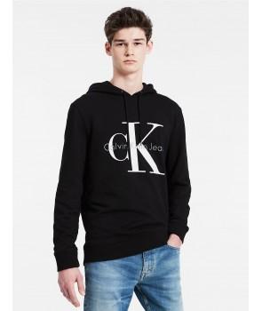 Calvin Klein pánské mikina Logo Hoodie 41QK962 černá