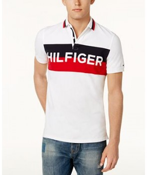 Tommy Hilfiger pánské polo tričko Stretch 760112