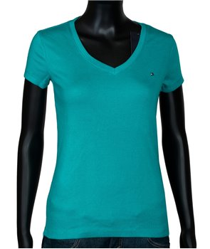 Tommy Hilfiger dámské tričko v-neck 917439