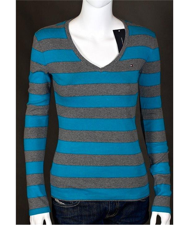 Tommy Hilfiger dámské tričko s dlouhým rukávem 738422