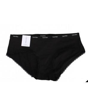 Calvin Klein kalhotky Hipster černé D1533
