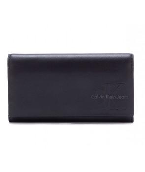 Calvin Klein dámská peněženka Trifold Mega hnědá