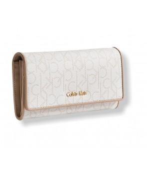 Calvin Klein dámská peněženka Trifold Mega Jacquard 62542