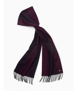 Calvin Klein šála dámská S4374 violet
