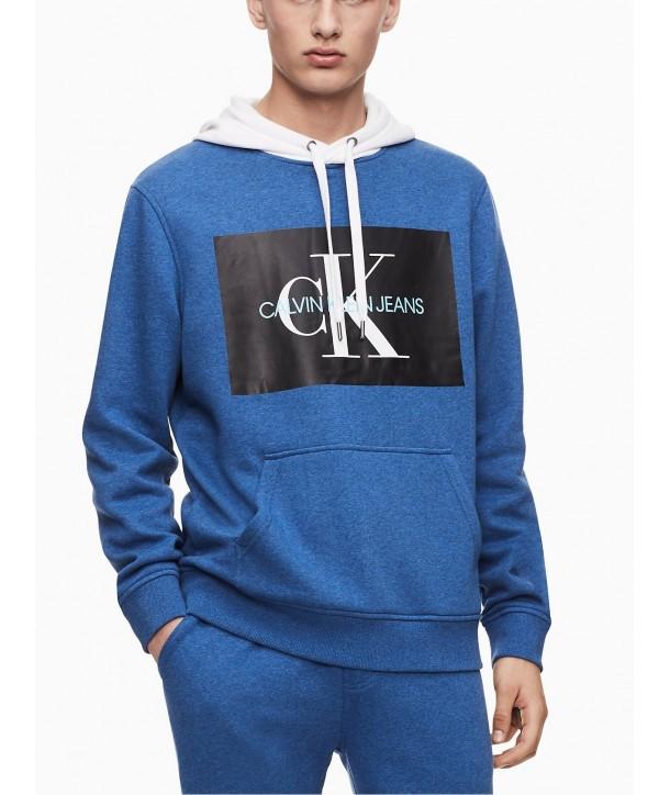 Calvin Klein pánské mikina s kapucí na zip 1531