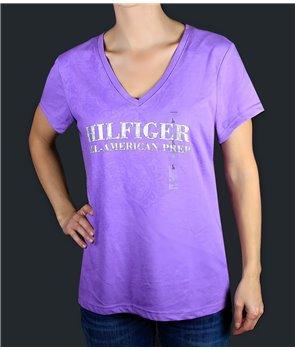 TOMMY HILFIGER dámské tričko RM8762.552 fialové ZDARMA poštovné