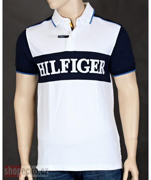 TOMMY HILFIGER originální pánské polo tričko CUSTOM fit 8878.100C