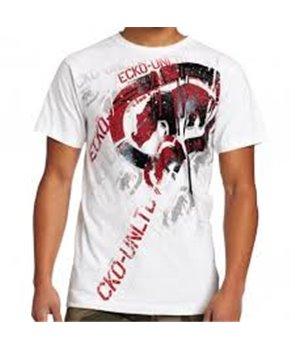 Ecko Unltd MMA pánské tričko BIG MOVES TEE bílé