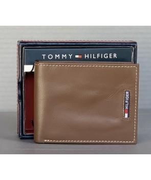 Tommy Hilfiger pánská peněženka Oxford kožená černá