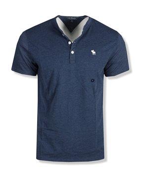 Abercrombie & Fitch pánské tričko logo print zelené 030