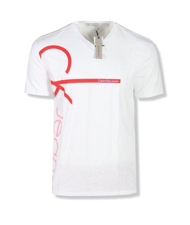 Calvin Klein pánské tričko Logo Iconic blue X423