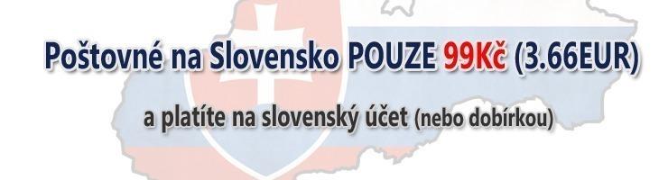 poštovné na Slovensko.